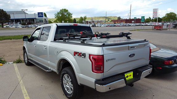Ford F 150 Pickup 4dr Super Cab Rack Installation Photos