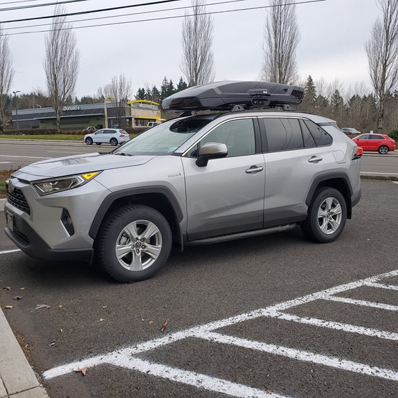 Toyota RAV4 5dr Cargo & Luggage Racks installation