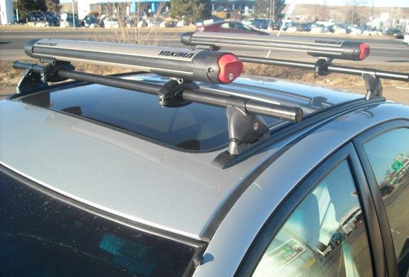 Toyota Camry 4dr Rack Installation Photos