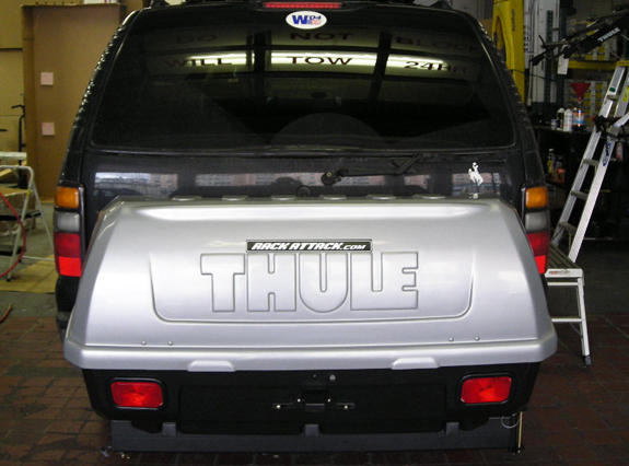 Chevrolet Suburban Rack Installation Photos