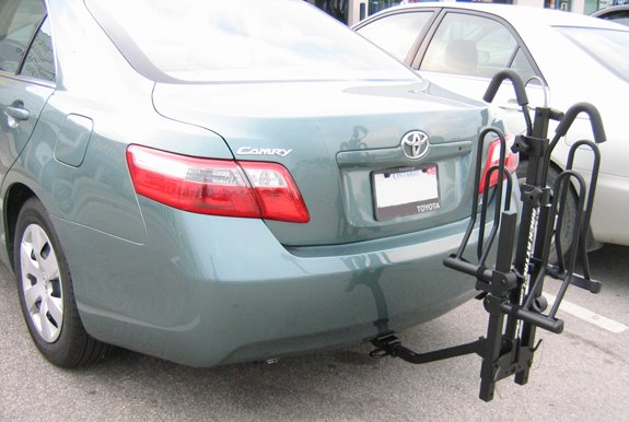 Toyota Camry 4dr Rack Installation Photos