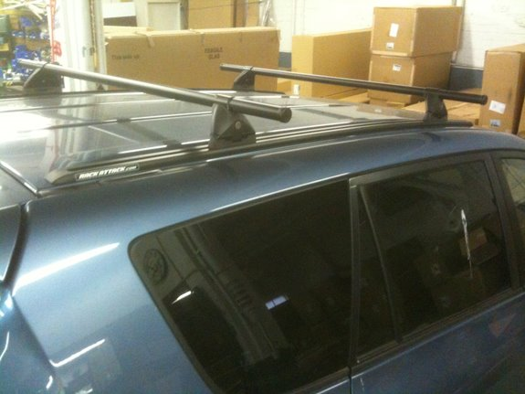 Toyota Rav4 5dr Rack Installation Photos