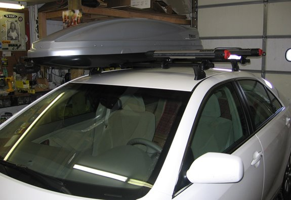 This Is A Custom 2008 Toyota Camry 4dr Cargo Box Carrier Roof Rack System