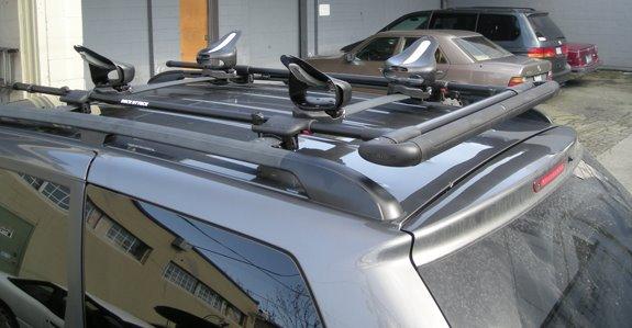 Toyota Sienna Dual Door Rack Installation Photos