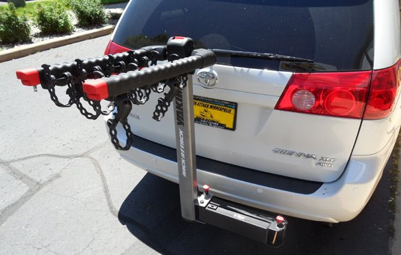 Toyota Sienna Dual Door Rack Installation Photos
