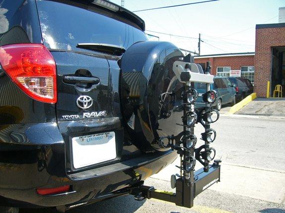 Toyota Rav4 5dr Rack Installation Photos
