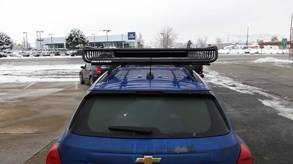 Chevrolet Trax Cargo & Luggage Racks installation