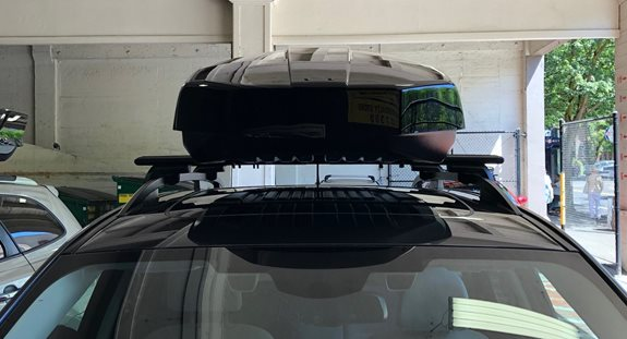 Subaru Forester Base Roof Rack Systems installation