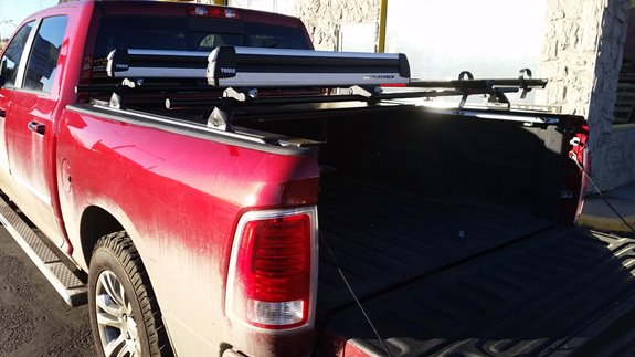 Dodge Ram Pickup 2500 3500 Mega Cab Rack Installation Photos