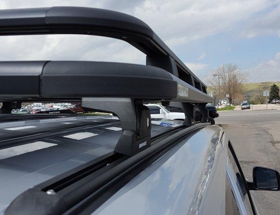 Dodge Durango Rack Installation Photos