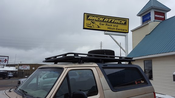 Ford Bronco 4DR Base Roof Rack Systems installation