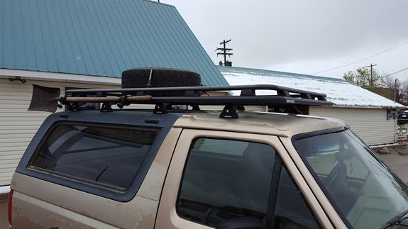 Ford Bronco Full Size Rack Installation Photos