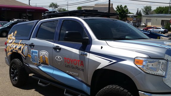 Toyota Tundra 4dr Double Cab Rack Installation Photos