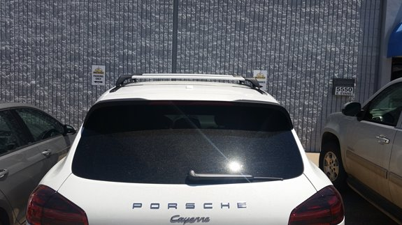 This Is A Custom Track System On A Naked Roof Porche Cayenne