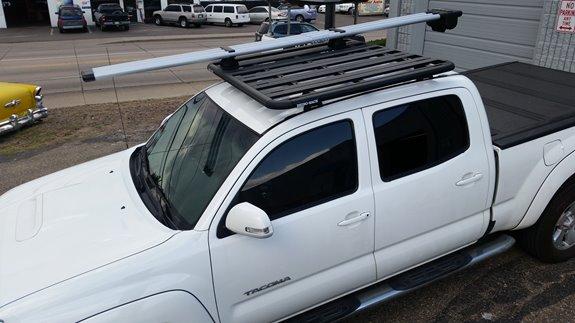 Toyota Tundra 4dr Double Cab Rack Installation Photos
