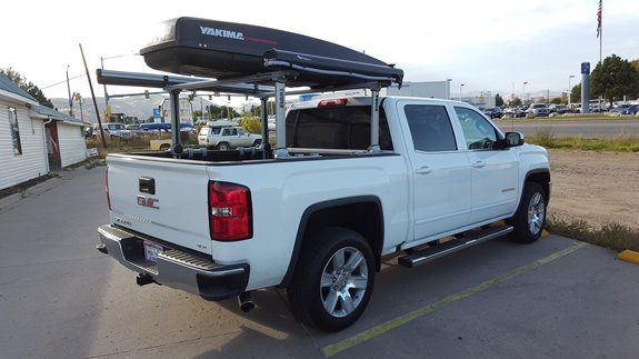 Gmc Sierra 1500 Std Cab Rack Installation Photos