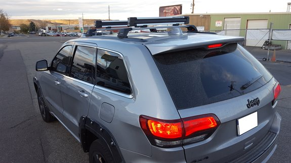 Jeep Grand Cherokee Rack Installation Photos