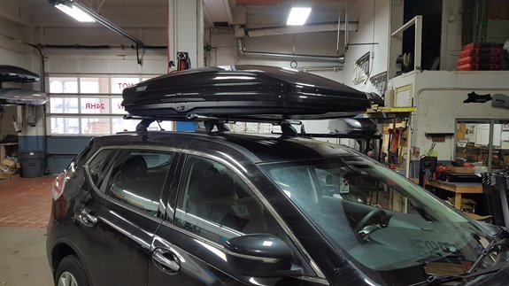 Nissan Rogue Rack Installation Photos
