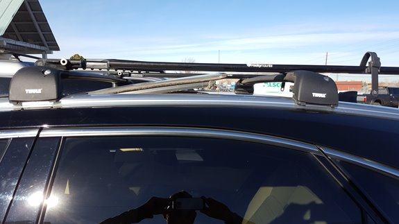 Lexus Nx 300h Rack Installation Photos