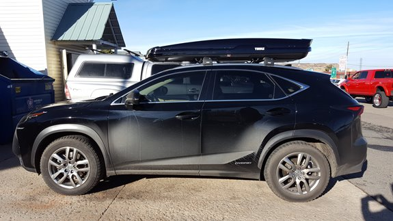 Lexus Nx 300h Rack Installation Photos