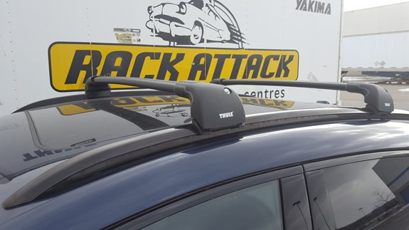 Amazing This Customer Wanted A Sleek Rack System That Kept The Look Of Their  Vehicle. The Thule Aeroblade Edge Worked Perfectly Allowing Them To Carry  Their ...
