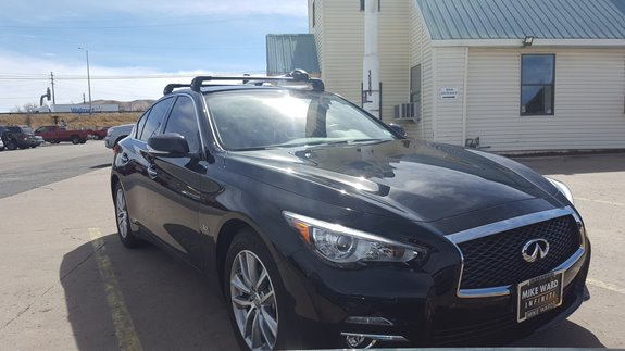 Infiniti Q50 Rack Installation Photos