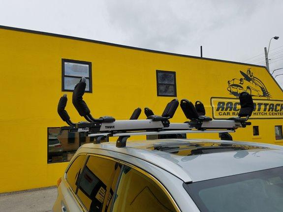 Toyota Highlander Rack Installation Photos