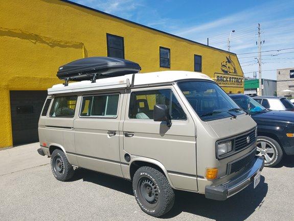Volkswagen Vans Westfalia Camper Rack Installation Photos