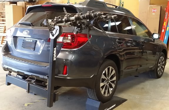 Subaru Outback Wagon Rack Installation Photos