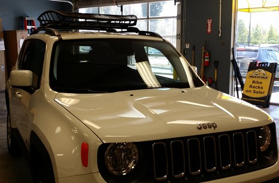 Jeep Renegade Rack Installation Photos