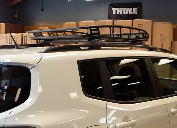 Jeep Renegade Base Roof Rack Systems installation