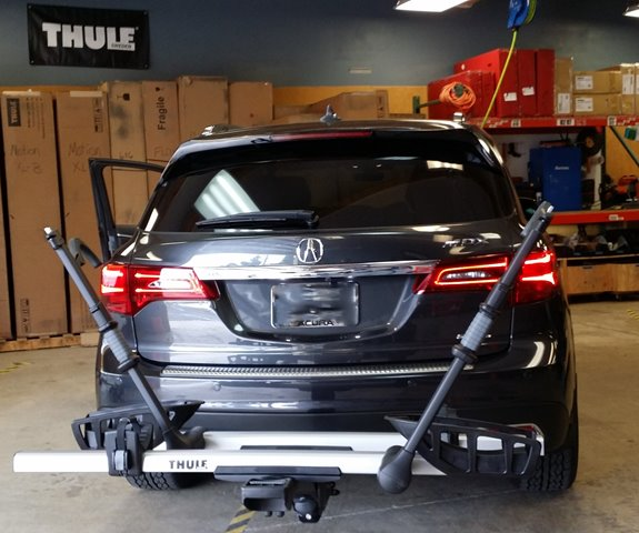 Acura MDX Rack Installation Photos