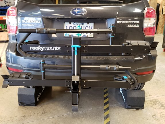Subaru Forester Rack Installation Photos