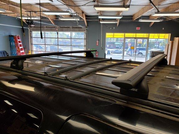 Ford Excursion Rack Installation Photos