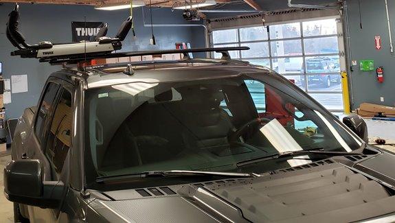 Ford F 150 Raptor 4dr Super Cab Rack Installation Photos