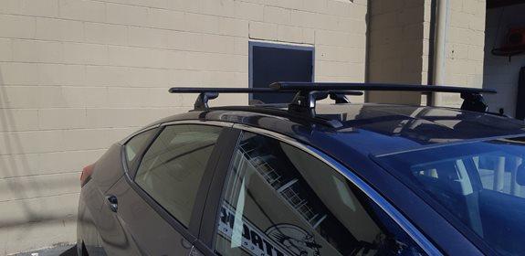 Honda Clarity Rack Installation Photos