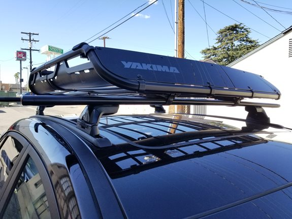 Hyundai Kona 5DR Base Roof Rack Systems installation