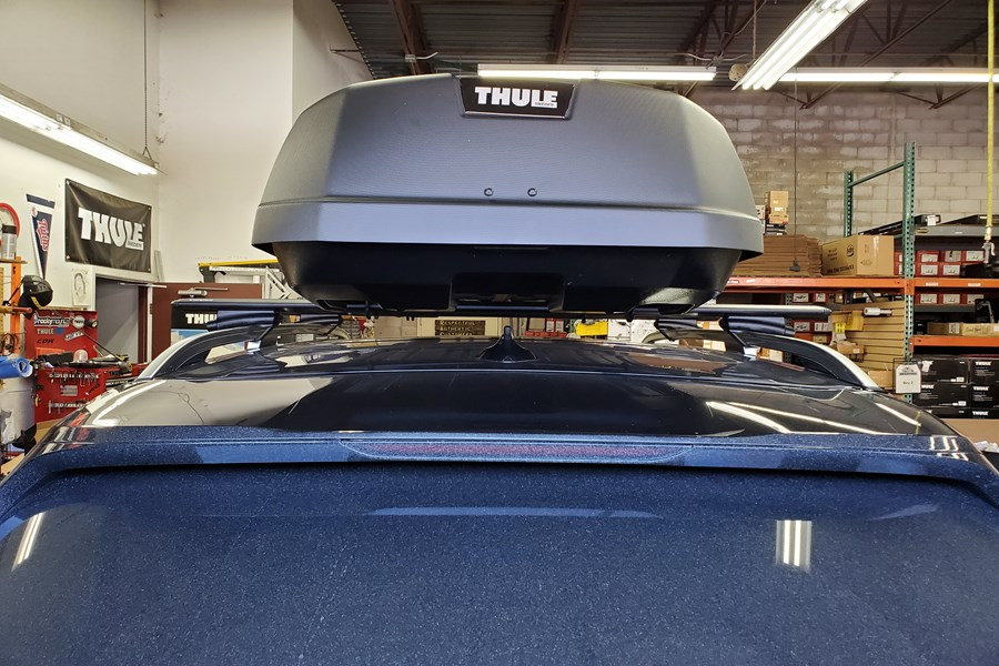 BMW X7 Base Roof Rack Systems installation