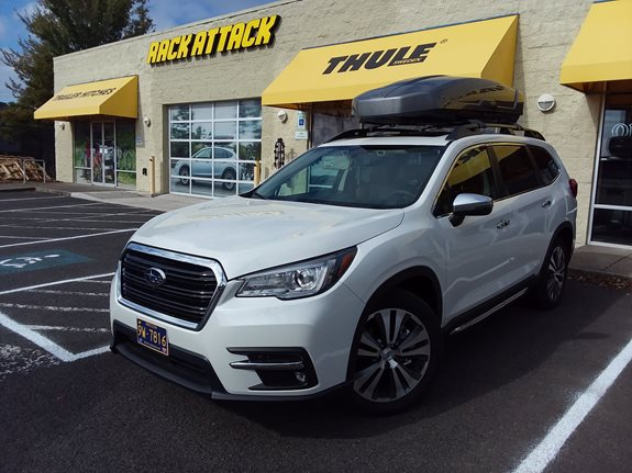 Subaru Ascent Cargo & Luggage Racks installation