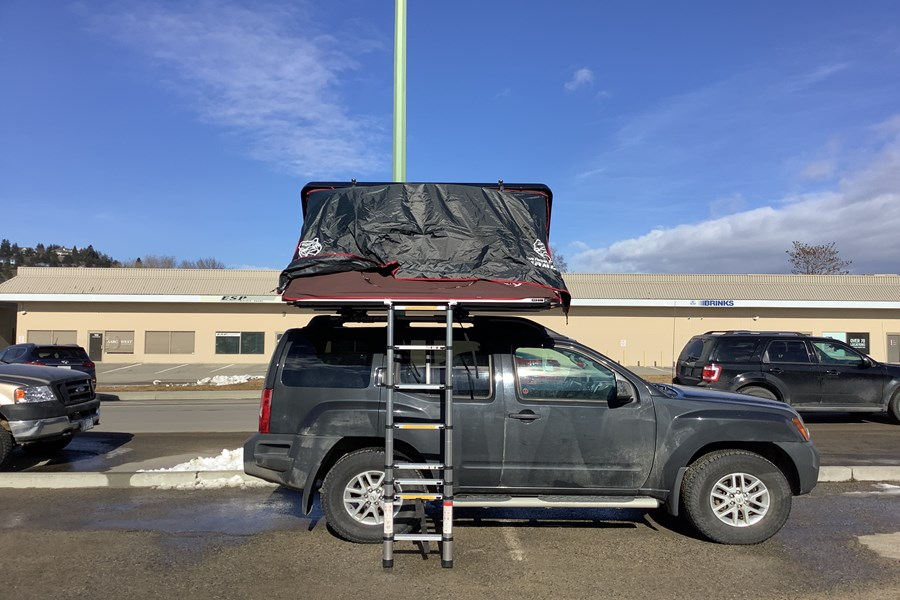 Nissan Xterra Base Roof Rack Systems installation