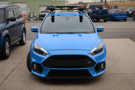 Ford Focus 5dr Rack Installation Photos