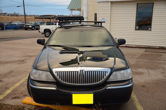 Lincoln Town Car 4dr Rack Installation Photos