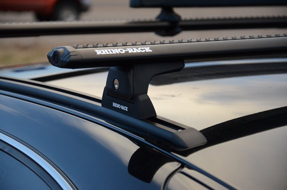 Lincoln Town Car 4dr Rack Installation Photos