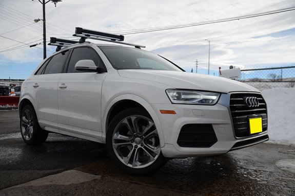 Audi Q3 Rack Installation Photos