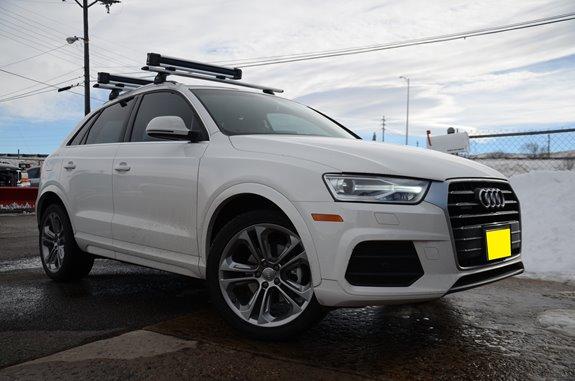 Audi Q3 Rack Installation Photos