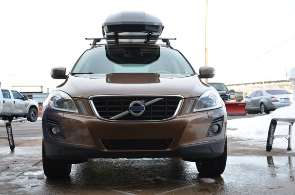 Volvo Xc60 Rack Installation Photos
