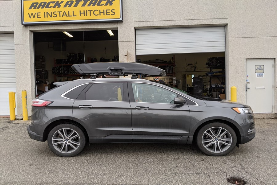 Ford Escape Cargo & Luggage Racks installation