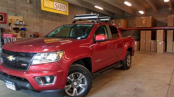 Chevrolet Colorado 4dr Crew Cab Rack Installation Photos