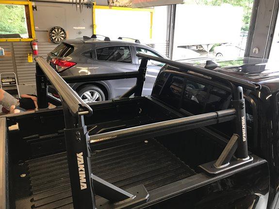 Toyota Tacoma Double Quad Cab Rack Installation Photos