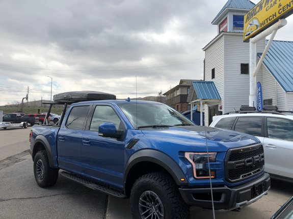 Thule Roof Box >> Ford F 150 Raptor 4DR Super Crew Rack Installation Photos